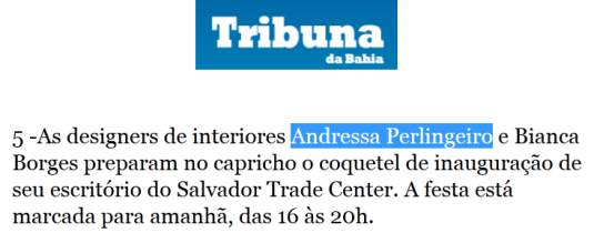 Tribuna da Bahia Online