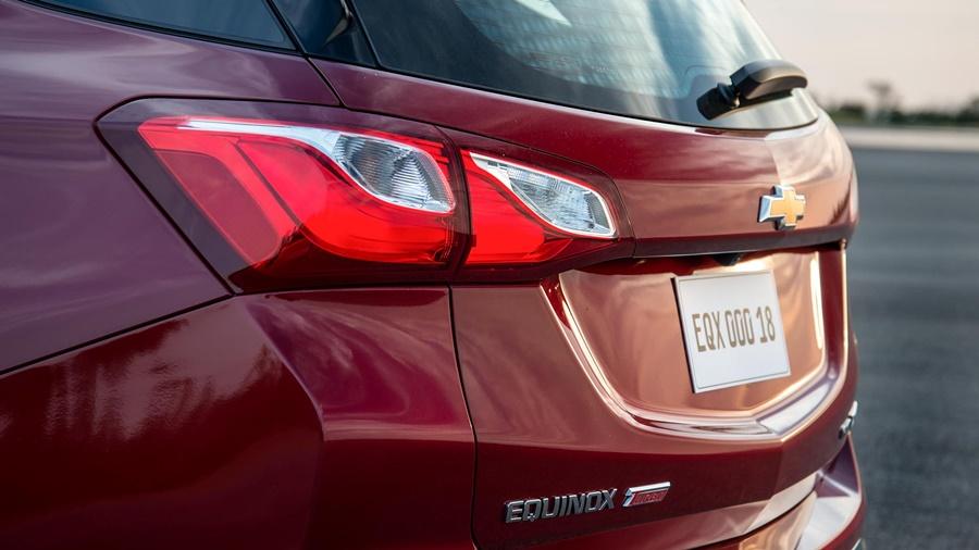 O Chevrolet Equinox possui linhas refinadas