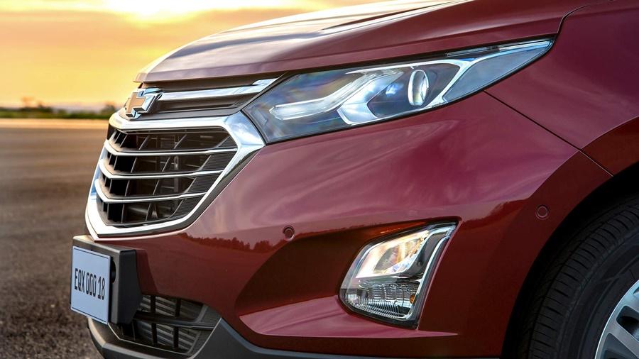 O Chevrolet Equinox vem equipado com alerta de colisão frontal