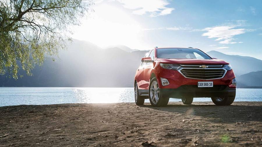 O Chevrolet Equinox impressiona por todos os ângulos