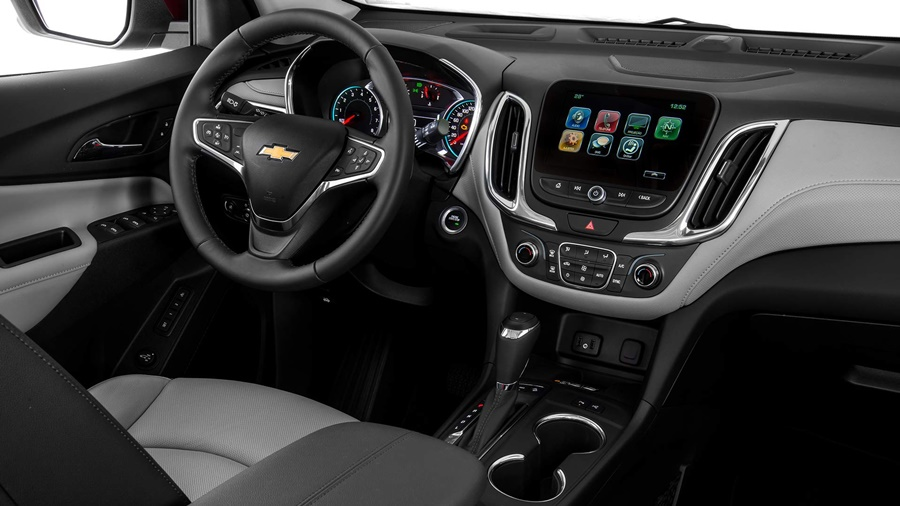 Volante e painel do Chevrolet Equinox