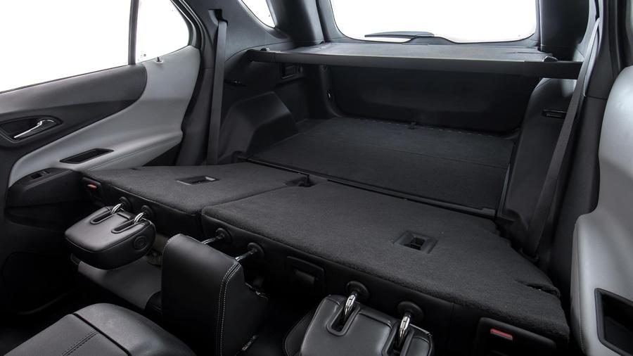 O Chevrolet Equinox oferece grande espaço interno e versatilidade