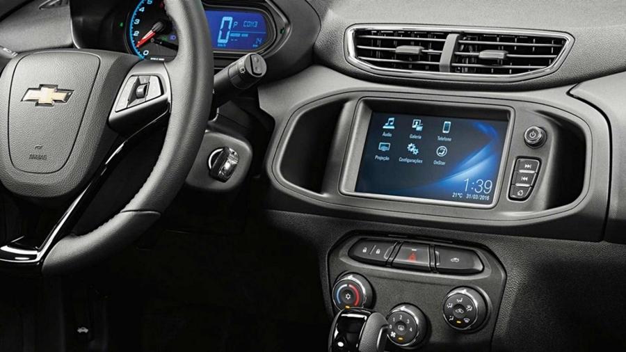 Chevrolet MyLink Nova Geração.