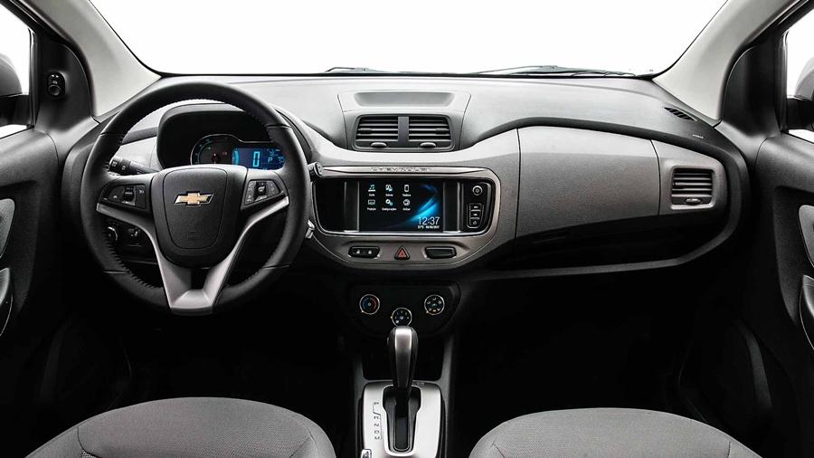 Além do conforto e espaço interno, a nova minivan Spin 2018 conta com diversos recuros de tecnlogias, dentre elas o OnStar