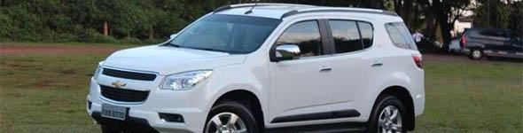 Chevrolet Trailblazer 2015 ganha inje��o direta na vers�o V6 e parte de R$ 147.790
