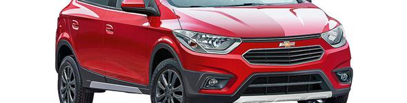 Chevrolet pode apresentar novo Onix com Facelift e versão aventureira