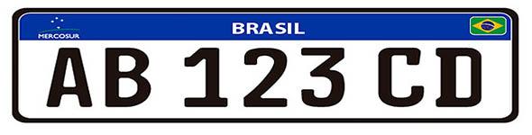 Brasil ter� novo modelo de placas em comum com o Mercosul a partir de 2016