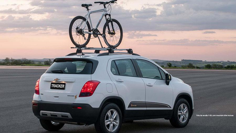 Fazendo jus ao nome, a série Freeride vem com dois itens de série: o suporte de teto com barras transversais para bicicleta e uma mountain bike exclusiva.