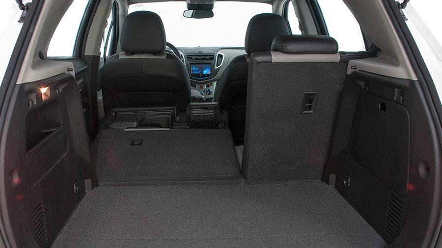 O Chevrolet Tracker possui grande flexibilidade do interior com até oito configurações de assentos.