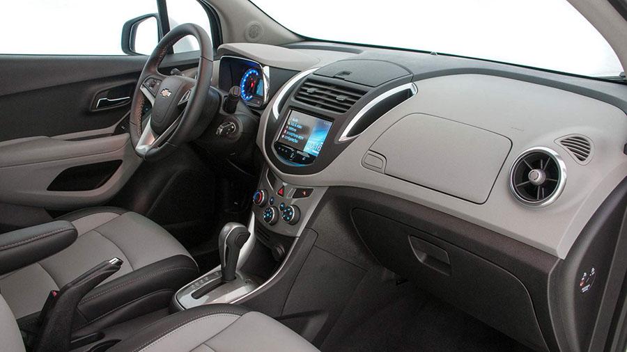 Novo Tracker: interior elaborado com linhas fluidas