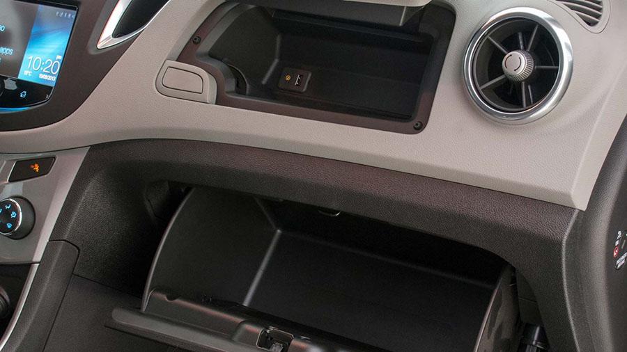Porta objetos integrados ao interior do veículo