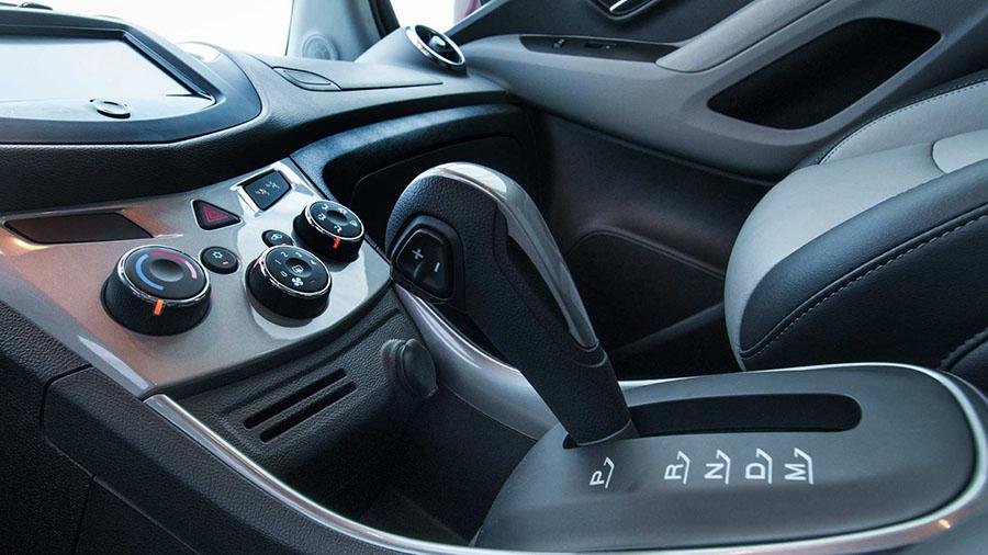 Transmissão automática de 6 velocidades GF6 de nova geração.