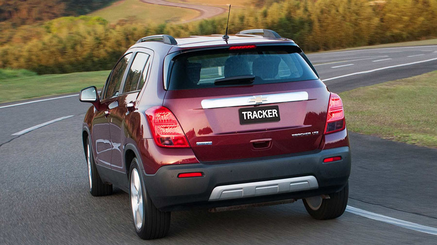 Um carro perfeito para descobrir tudo que a vida oferece: Tracker.
