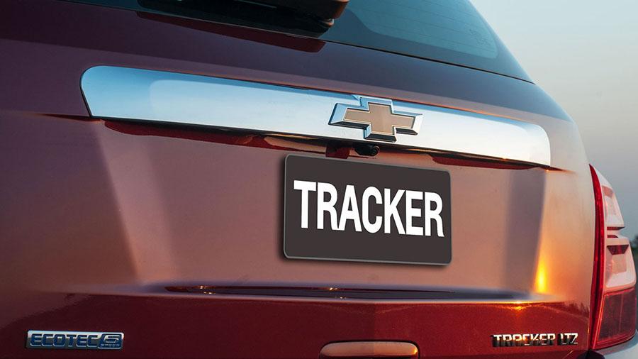 Tenha a última palavra em design global da Chevrolet na sua garagem: Tracker.
