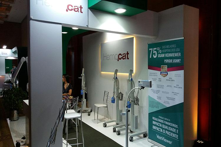Hemocat participa do IMAP apresentando o VeinViewer Vision 2