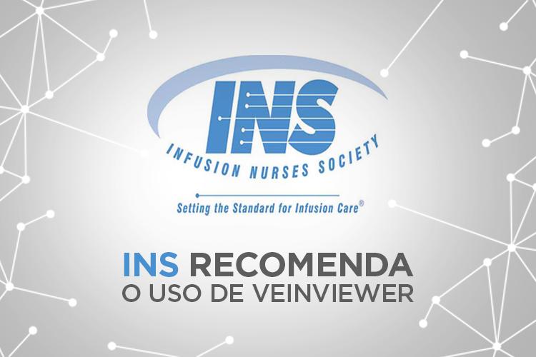 O Infusion Nurses Society (INS) recomenda o uso de Visualizador de Veias.