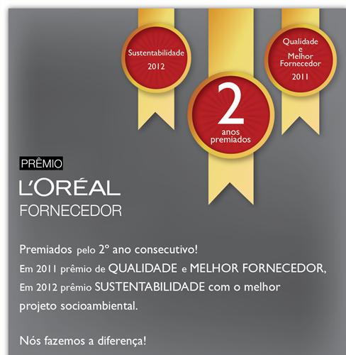 Prêmio Sustentabilidade 2012 L'Oréal