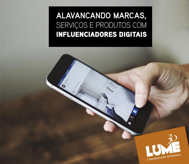 Influenciadores digitais ajudam a alavancar marcas, serviços e produtos