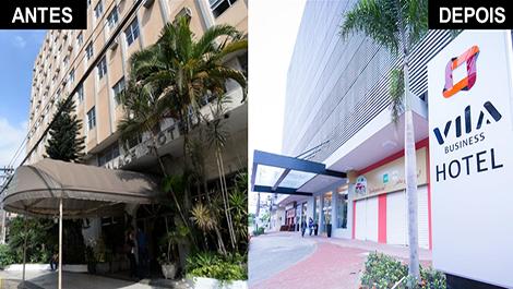 Vila Business Hotel Volta Redonda, uma restauração de absoluto sucesso 1