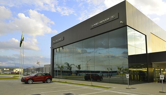 Fábrica Jaguar Land Rover - Acesso JLR 1