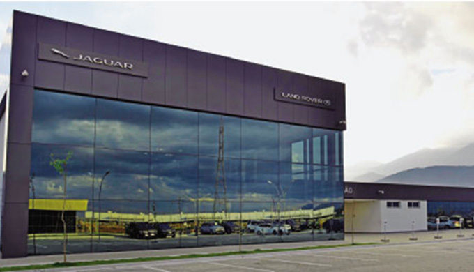 Fábrica Jaguar Land Rover - Acesso JLR 4