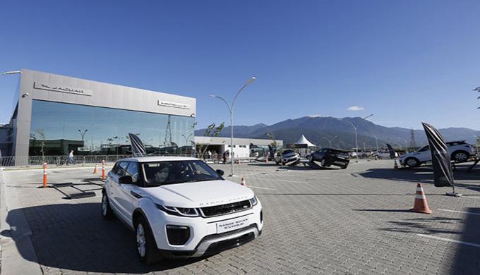 Fábrica Jaguar Land Rover - Acesso JLR 5