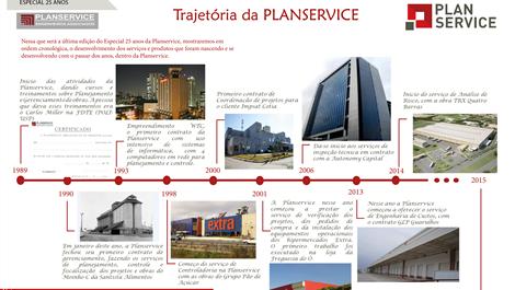 Especial 25 anos: A trajetória da PLANSERVICE 1