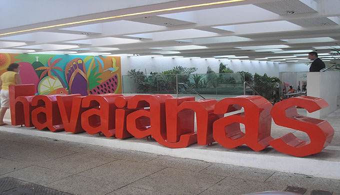 Alpargatas Havaianas - Loja Conceito 1