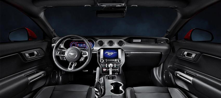 Interior - Mustang