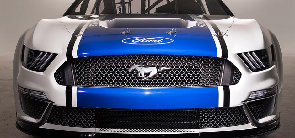 A Ford apresentou o Mustang Nascar