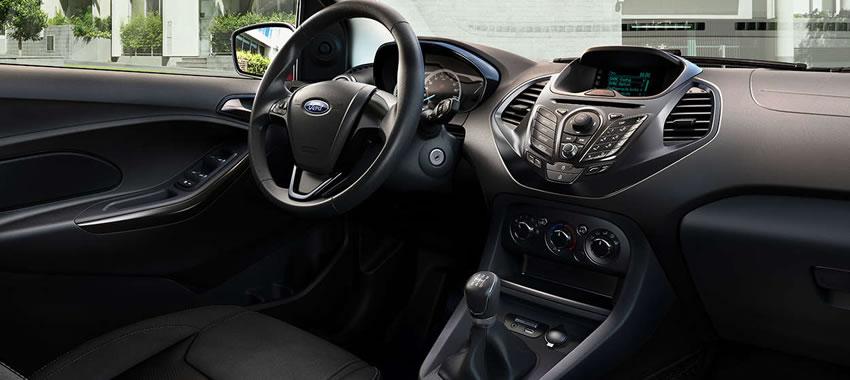 Interior - Ka+ Sedan