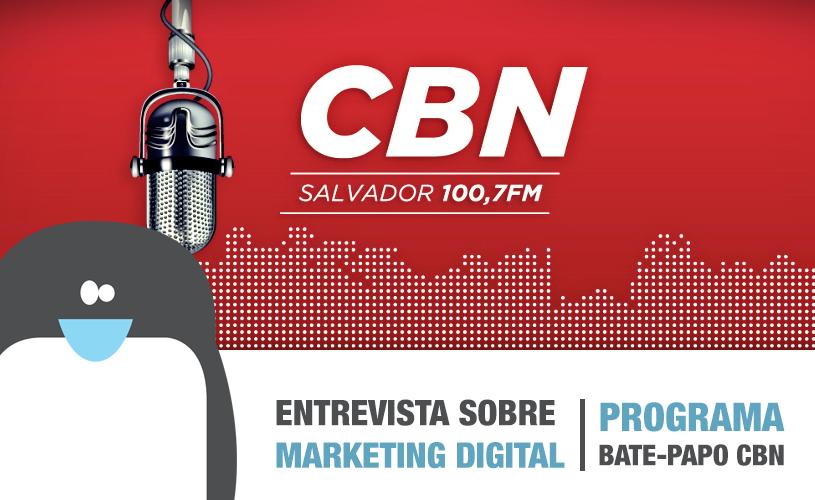 Rádio CBN | Sigu fala sobre Marketing Digital em entrevista