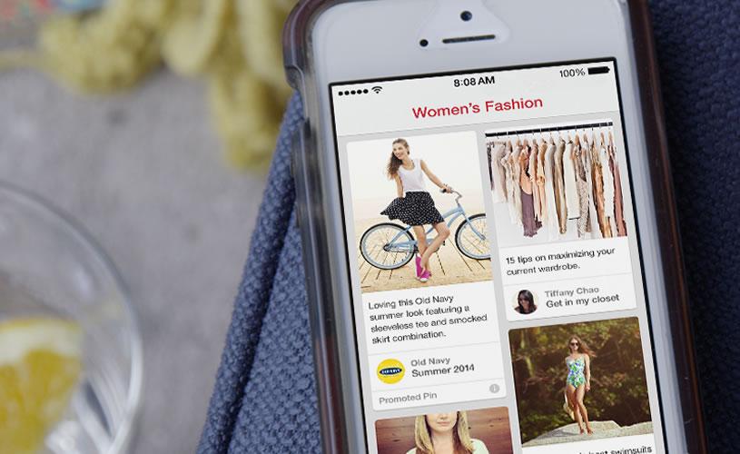 Pinterest inicia estratégia de pins patrocinados em suas páginas