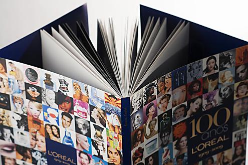 """Livro """"100 Anos L´ORÉAL"""""""