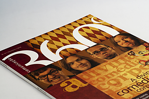 """Revista """"Comunicação 360º """" Capa"""