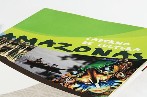 """Livro """"Caderno de Cultura Amazonas"""" Capa"""