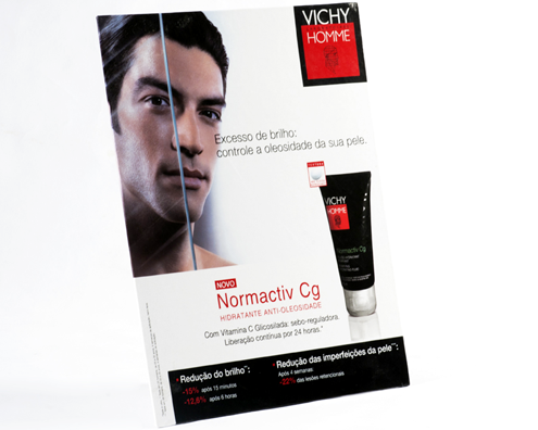 "Display ""Vichy Homme"""