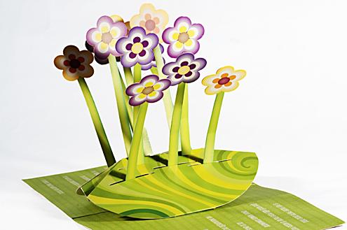 "Folder Promocional ""Flores"""