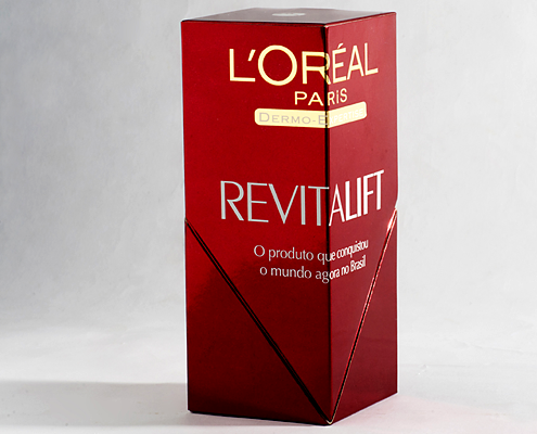 """Embalagem """"L´oréal Revitalift"""""""
