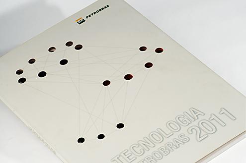 """Relatório """"Tecnologia Petrobras 2011"""" Capa"""