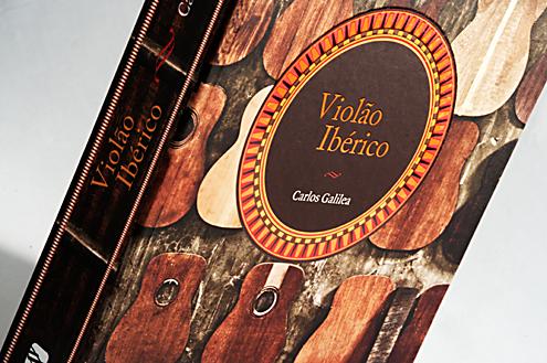 """Livro """"Violão Ibérico"""" Capa"""