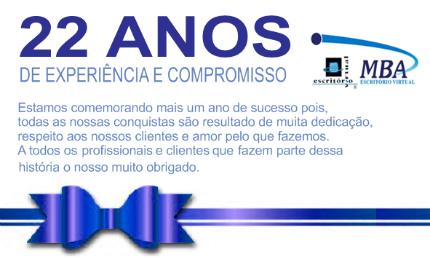 22 Anos de Escritório Virtual Ltda.