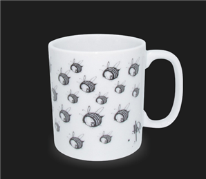 Caneca Hope Fox and Bees