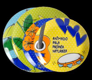 Coleção Prato Cheio Brasilidade Brasil