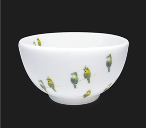 Bowl Infinito Cardeal Amarelo