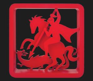 São Jorge Vermelho 40