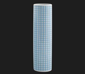 Vaso Três Retrô Blue