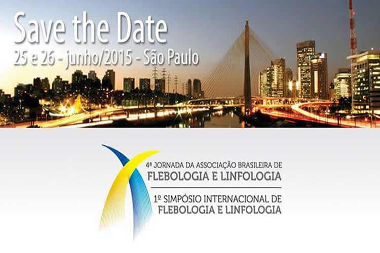 Imagem do artigo 4ª Jornada da Associação Brasileira de Flebologia e Linfologia e 1º Simpósio Internacional de Flebologia e Linfologia