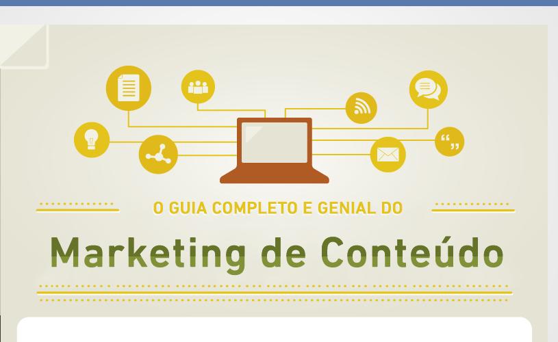Marketing de Conteúdo: Tudo o que você precisa saber em um guia definitivo |INFOGRÁFICO|