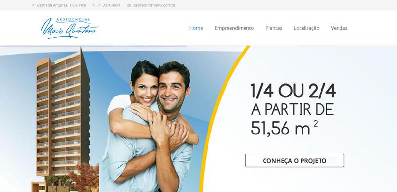 Conheça o site do Residencial Mario Quintana. Novo projeto desenvolvido pela Sigu.